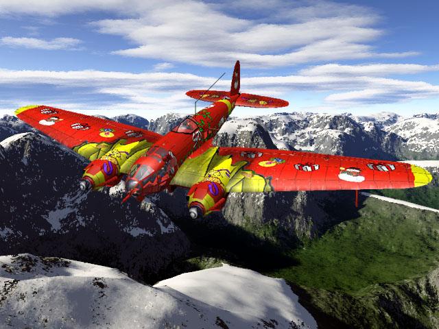 He 111 du Père Noël